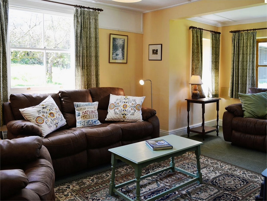 Exmoor Holiday Cottage Lounge